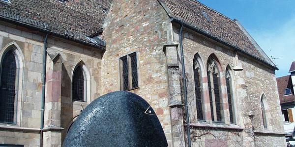 Kopf an der Schlosskirche