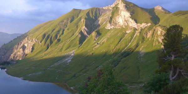 Schochenspitze oberhalb Traualpsee