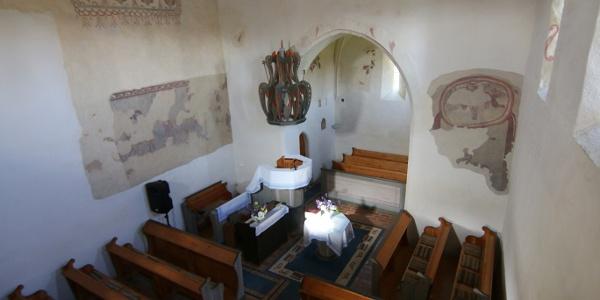 A református templom Márokpapin