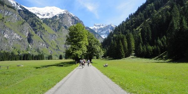 Radeln im Herzen der Alpen