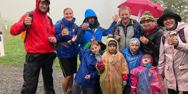 Seven Summits Familien Tour Schröcken 2019