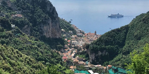 View to Amalfi