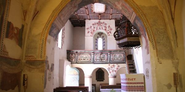 A csarodai református templom