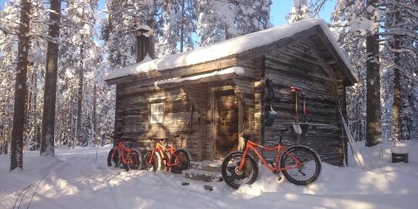 Fat Biking in Martinselkonen