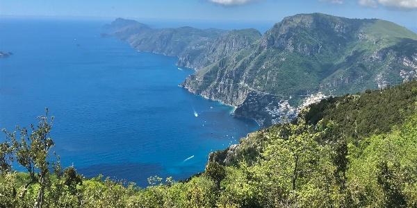 Gulf of Salerno and Isle of Capri