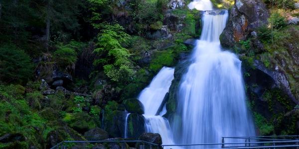 Triberger Wasserfall: Unterer Hauptfall