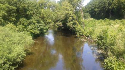 An example what the river Kyll looks like