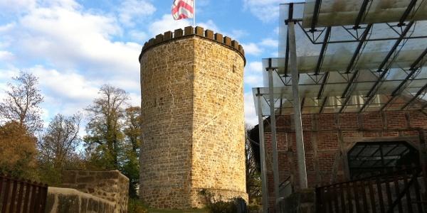 Burg Ravensberg - Wehrturm