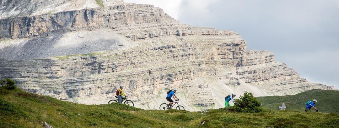 Mountainbiken in Madonna di Campiglio Pinzolo Val Rendena