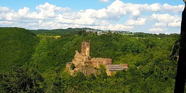 Blick auf die Ehrenburg