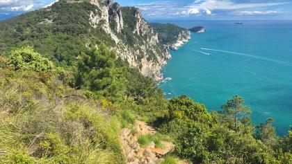 Cinque Terre's Dramatic Coastline
