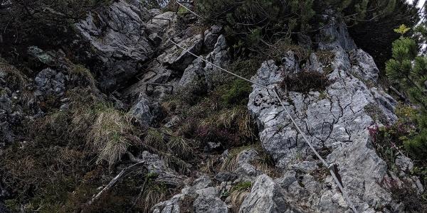 Descent from Rabenkopf