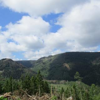 Tolle Ausblicke auf die umliegenden Berge