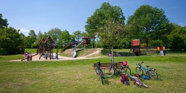 Spielplatz an der Liegewiese am Wassersportzentrum