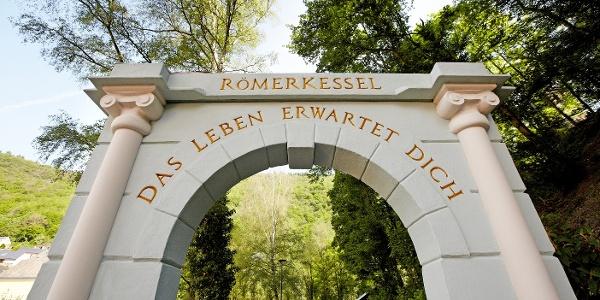 Eingang zum Landschaftstherapeutischen Park