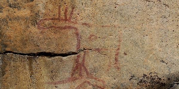 Astuvansalmi kalliomaalaus