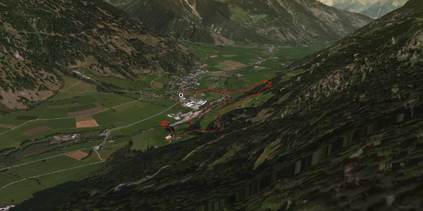 Wanderung in Graubünden: Müstair - Cascada da Pisch - Guad - Müstair