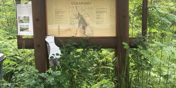 Vilkaharju nature trail