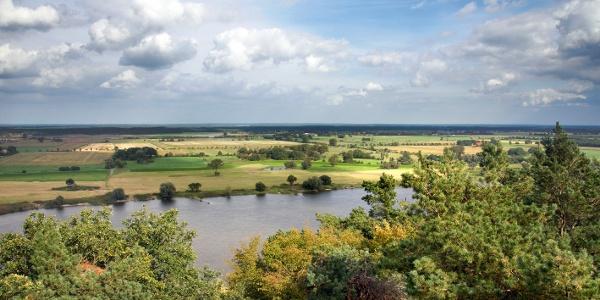 Ausblick vom Höhbeck