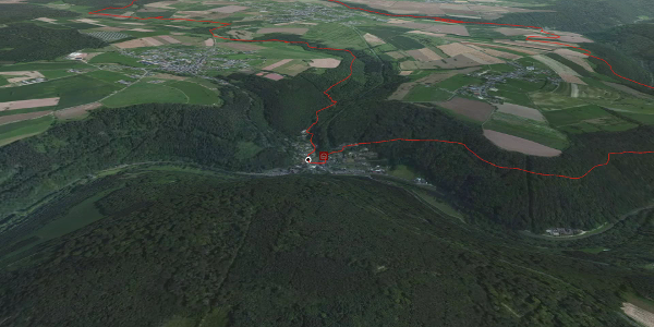 Wanderung in Auw an der Kyll: NaturWanderPark delux: Kylltaler Buntsandsteinroute (Auw an der Kyll)