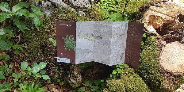 """Folder zum """"Goßarweag"""" im Tourismusbüro erhältlich"""