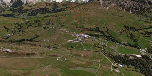"""Passeggiata in Dolomiti Alpe di Siusi: Il sentiero """"Hans e Paula Steger"""""""