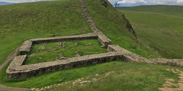 Walk past Milecastle 39
