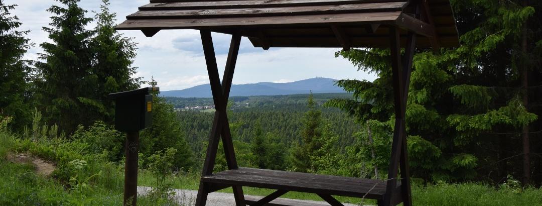 Aussichtspunkt und Stempelstelle Oberharzblick