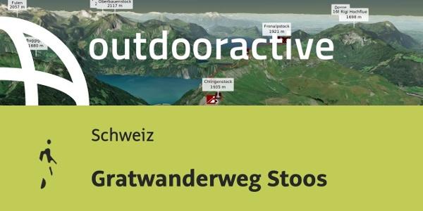 Wanderung in der Schweiz: Gratwanderweg Stoos