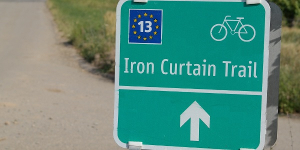 """Beschilderung """"Iron Curtain Trail"""""""