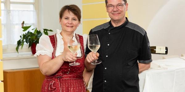 Schloßwirt Claudia und Jürgen Schmitz