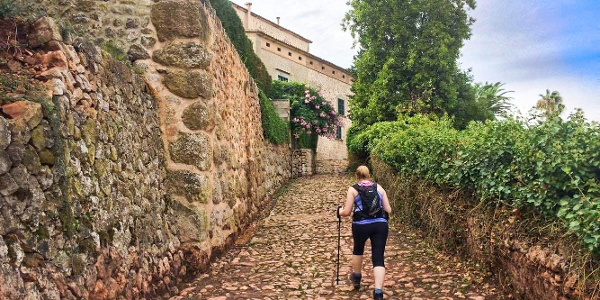 Walk into the quirky town of Deia