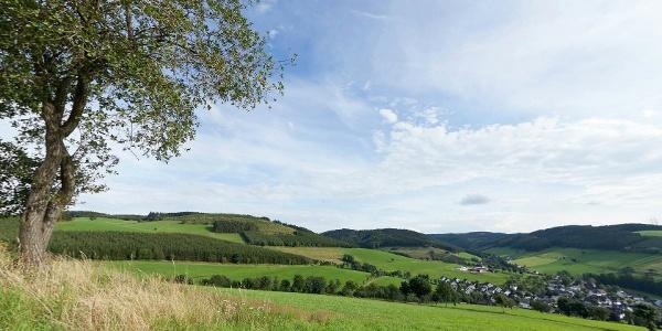 Henne-Rartal - Auf dem Kreutz bei Oberhenneborn