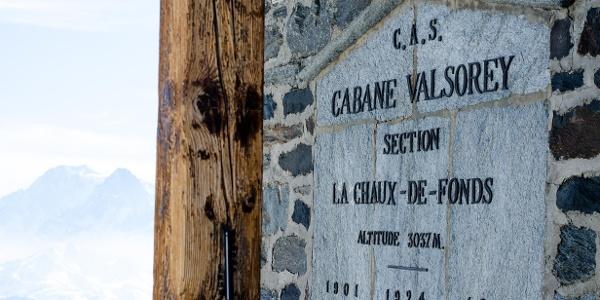 Cabane Valsorey