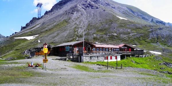 Strelapass und Gross-Schiahorn