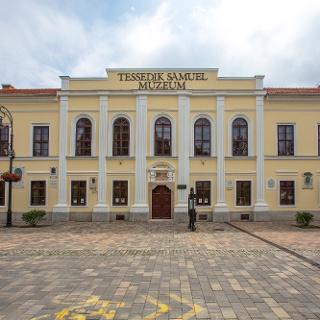 A szarvasi Tessedik Sámuel Múzeum homlokzata