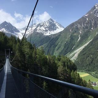 Suspension Bridge En Route