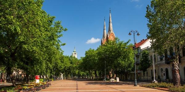 Szent István tér, Békéscsaba