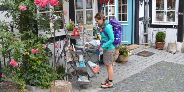 Gemütlich Shoppen - auch das ist in Tecklenburg möglich!