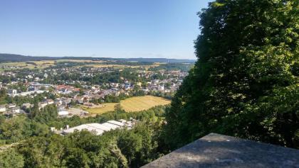 Blick von der Burg Birkenfeld