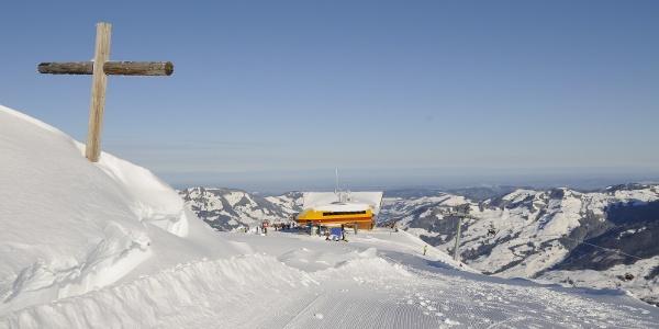 Panoramaweg Fronalpstock Gipfel
