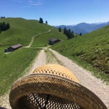 Höhenweg Richtung Ragstatt-Almen