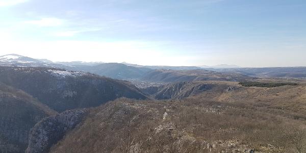 Cetatea Turcului - Cheile Carașului