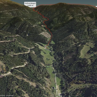 long distance hiking trail in Murtal: E1.2 - Glein - Gleinalm - Obdach