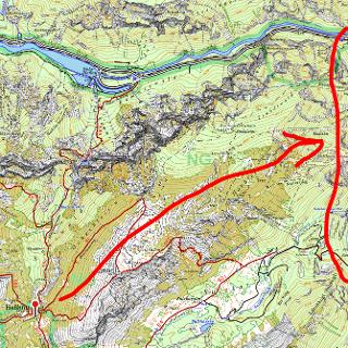 Sperre Hartelsgraben (Weg 665, Gesäuse)