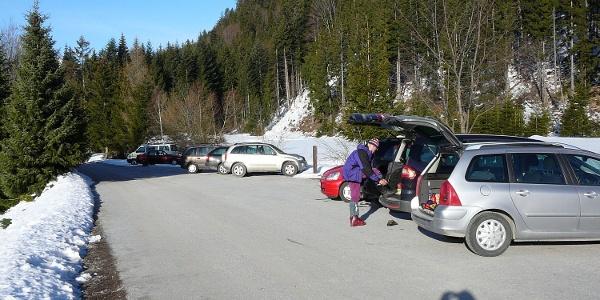Parkplatz Gh. Panoramablick