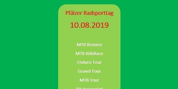 Programm am Pfälzer Radsporttag (10.08.2019)