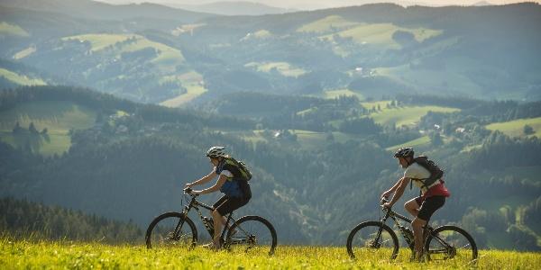 Bikespaß in der Region Joglland-Waldheimat