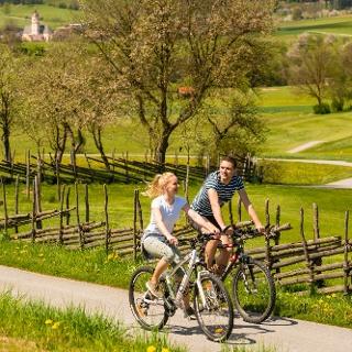 Radfahren im Naturpark Almenland