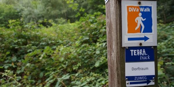 TERRA.track Dorftraum - Zuweg vom Wanderparkplatz Windhorstbrücke